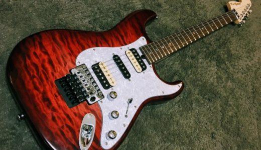 T's Guitars『ST-22R Custom (Ruby Red)』を手に入れた!