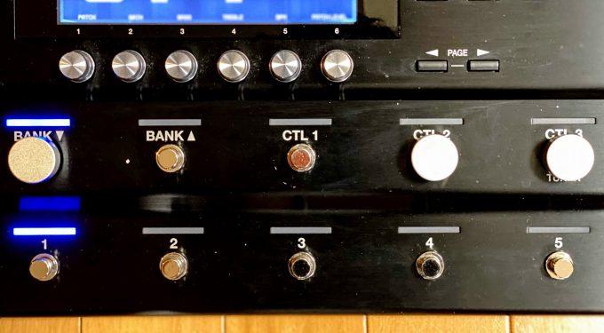 GT-1000のスイッチ