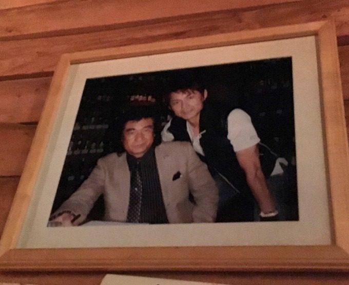 藤岡弘、と倉田てつをの写真