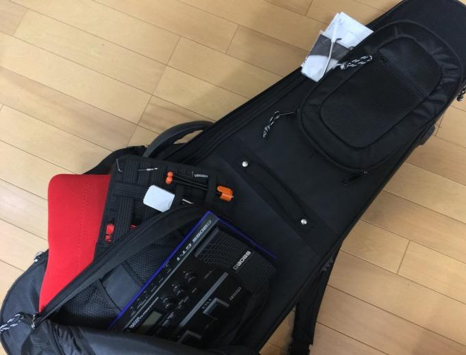ギター・機材運搬用具を2年間使用した結果!『セミハードケース・GRID-IT・ゴム脚付きマグナカート』