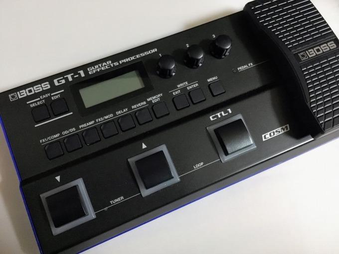 BOSS GT-100愛用者がGT-1を使ってみて感じたこと