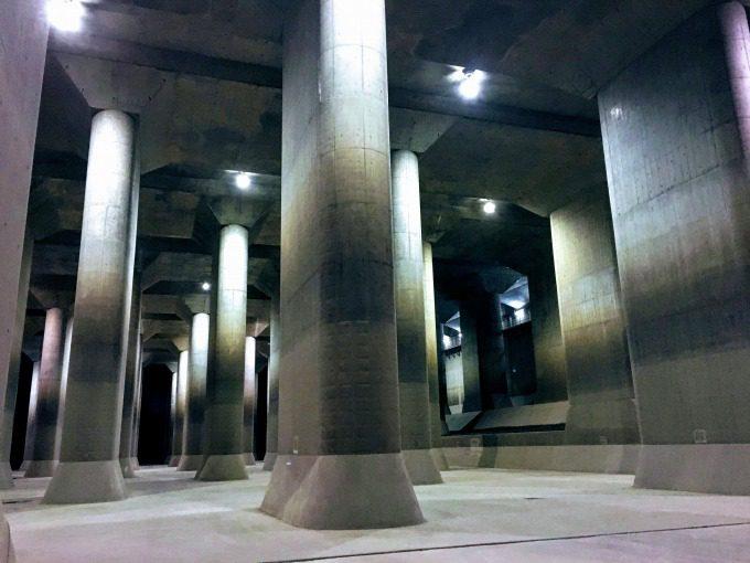 地下神殿内部