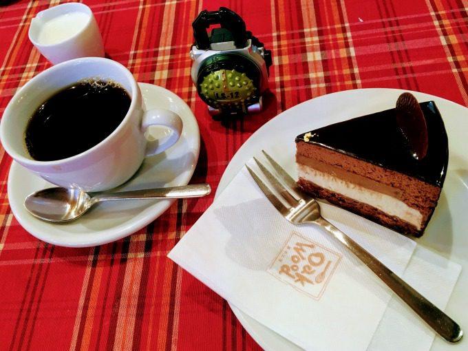 オークウッドのケーキ