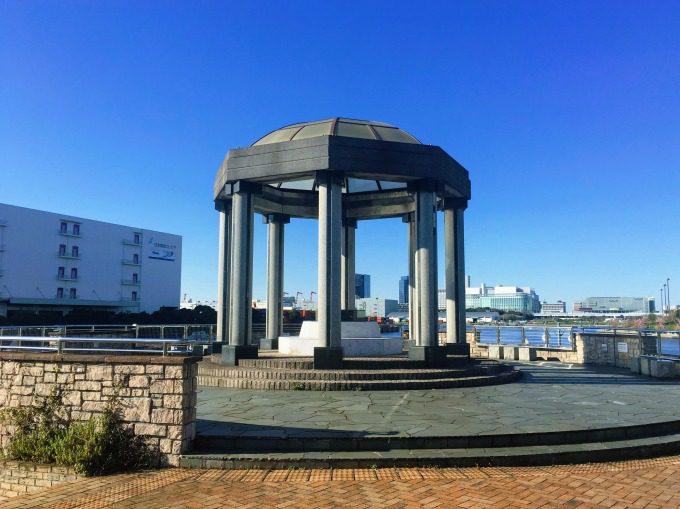 水の広場公園の展望台