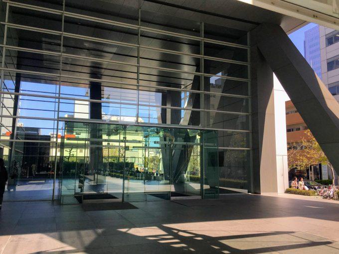 アーバンネット名古屋ビルの出入り口