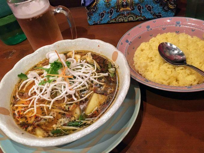 マジックスパイス名古屋店のスープカレー