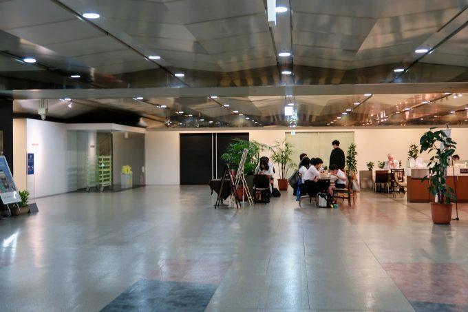 東京シティエアターミナルの屋内