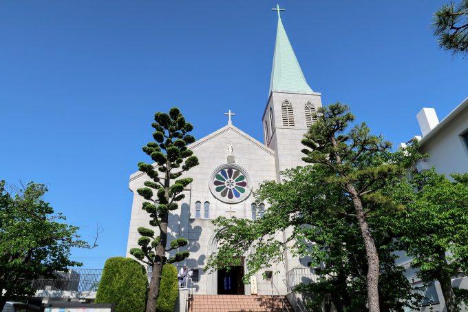 カトリック芦屋教会の外観
