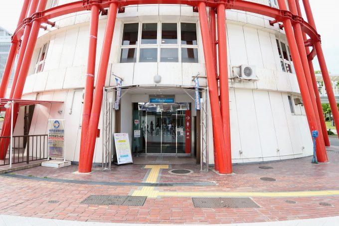 神戸ポートタワーの入り口