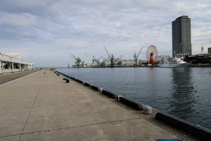 MOSAICの対岸の港