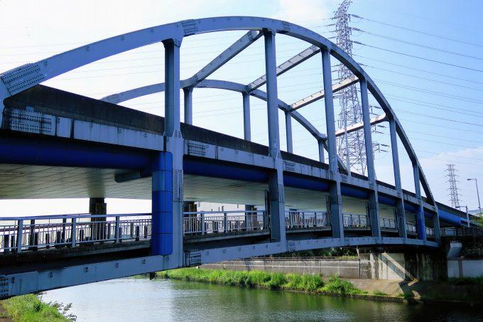 舟渡大橋の外観