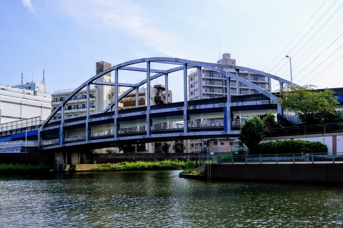 舟渡大橋の全景