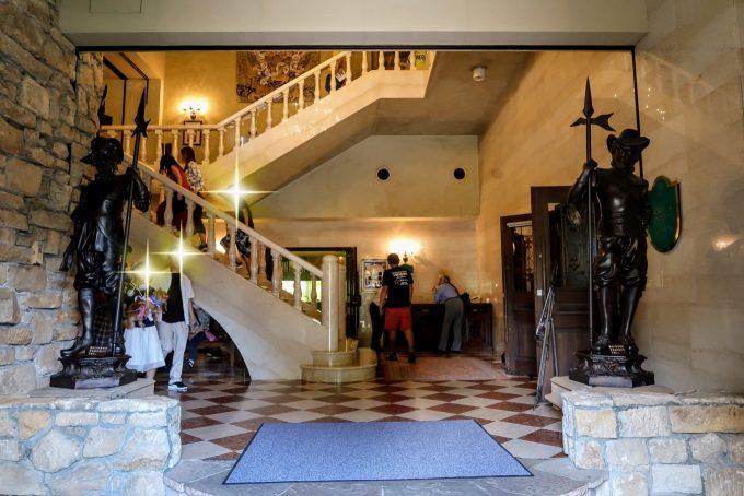 ロックハート城の入り口