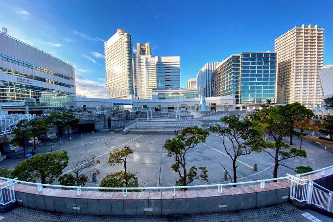 パシフィコ横浜 国際交流ゾーン プラザ広場